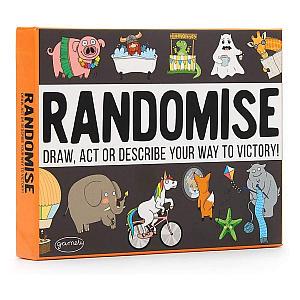 Randomise: The Hilarious Pocketsize Party Game