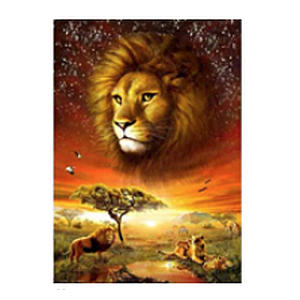 The Lion King Paint By Numbers Kit