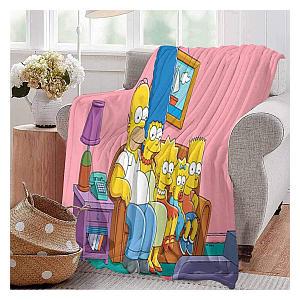 The Simpsons Blanket