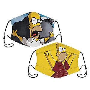 The Simpsons Face Masks