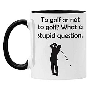 To Golf or Not To Golf Mug
