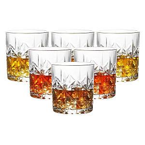 Vinsani 6pc Royal Whisky Glasses