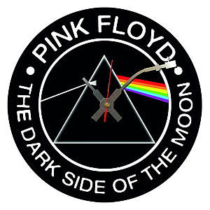 Vinyl Pink Floyd Wall Clock