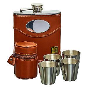 Whiskey Hip Flask Set