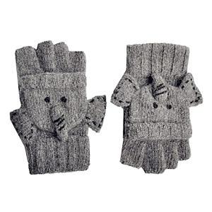 Women's Elephant Knitted Gloves