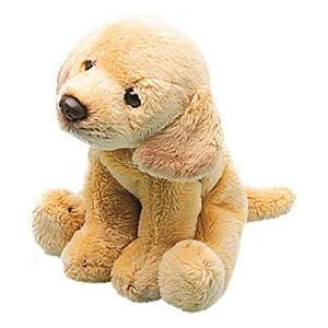 Yellow Labrador Sitting Soft Toy