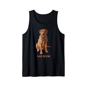 Yellow Labrador Tank Top