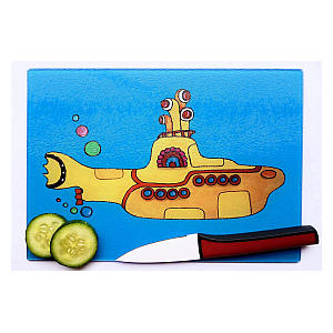 Yellow Submarine Chopping Board