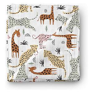 Zoo Animals Muslin Swaddle