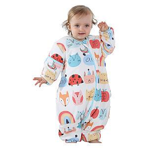 Zoo Pattern Baby Sleeping Bag