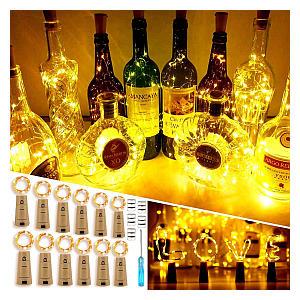 12 Pack Wine Bottle Lights