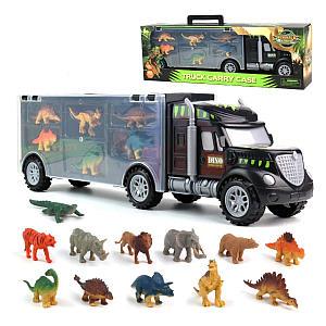 12 Piece Dinosaur Truck