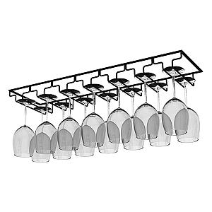 14 Slot Hanging Wine Glass Rack