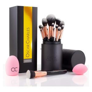 15-Piece Professional Makeup Brush Set