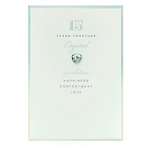 15th Anniversary Card