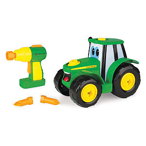 16 Piece Building Farm Toy Car