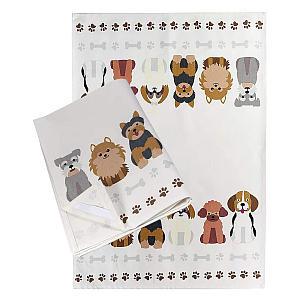 2 Piece Animal Print Tea Towel Set