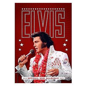 2021 Elvis Presley Calendar