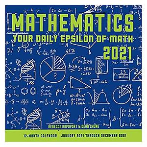 2021 Maths Calendar