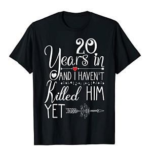20th Anniversary T-Shirt for Her