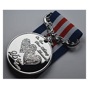 25 Year Commemorative Medal