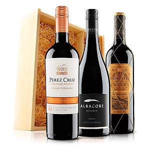 3 Bottle of Wine in Gift Box
