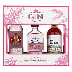 3 Flavoured Gin Selection