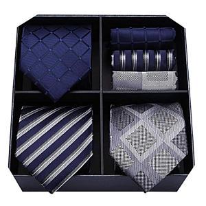 3 Piece Silk Tie Set