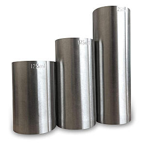 3 Piece Stainless Steel Measures Set
