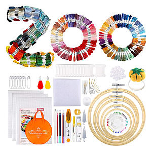 349 Piece Embroidery Kit