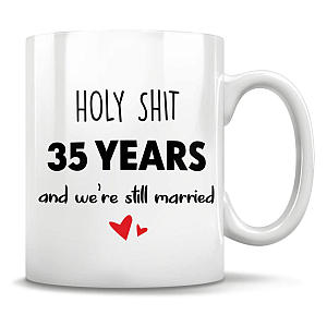 35 Years Married Mug