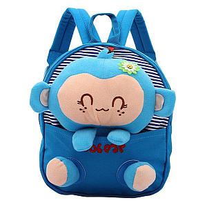 3D Detachable Lovely Monkey Baby's Backpack