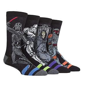 4 Pairs of Illustrated Socks