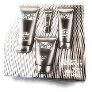 4 Piece Skin Care for Oily Skin for Men