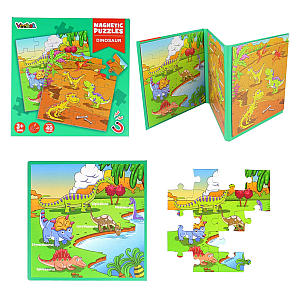 40 Piece Magnetic Jigsaw Puzzle