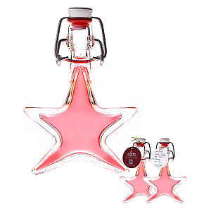 40 Ml Turkish Delight Gin in Glass Star Shaped Bottle