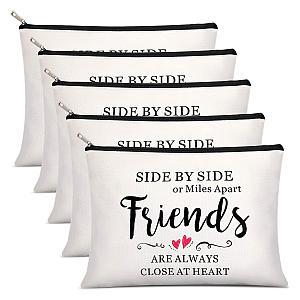 5 Piece Friends Makeup Bags
