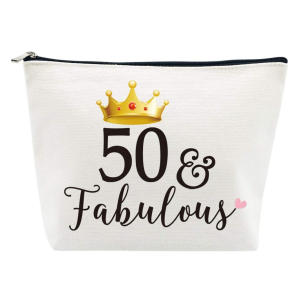 50 And Fabulous Makeup Bag