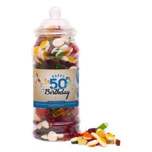50th Birthday Sweet Jar