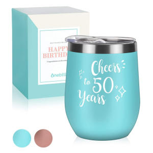 50th Cheers Insulated Travel Tumbler