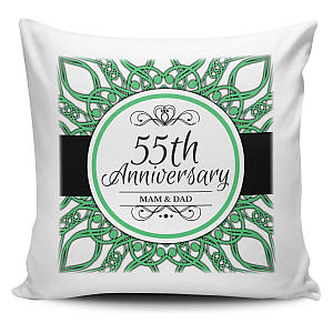 55th Anniversary Novelty Cushion Cover