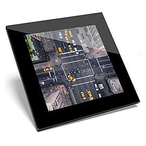 5th Avenue Aerial Shot Glass Coaster