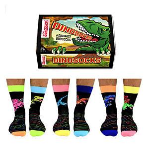 6 Dinosocks for Men