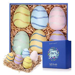 6 Egg Shaped Bath Bombs