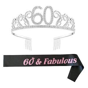 60 And Fabulous Tiara
