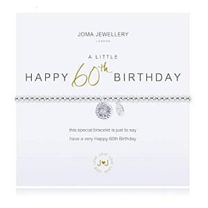 60th Birthday Charm Bracelet