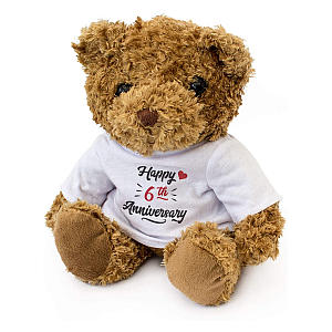 6th Anniversary Teddy Bear