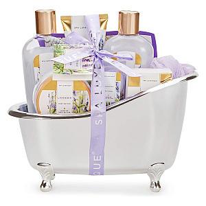 8 Piece Lavender Spa Gift Set