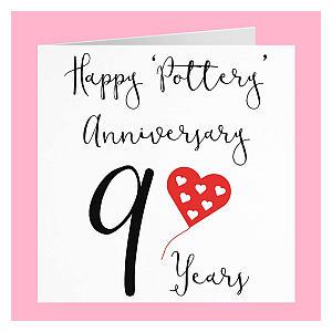 9th Anniversary Card