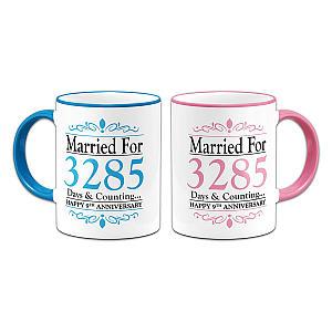 9th Anniversary Mugs